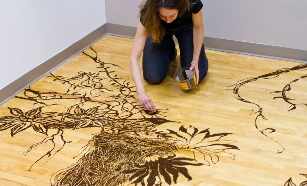 Art ami whoa for Painting with coffee grounds