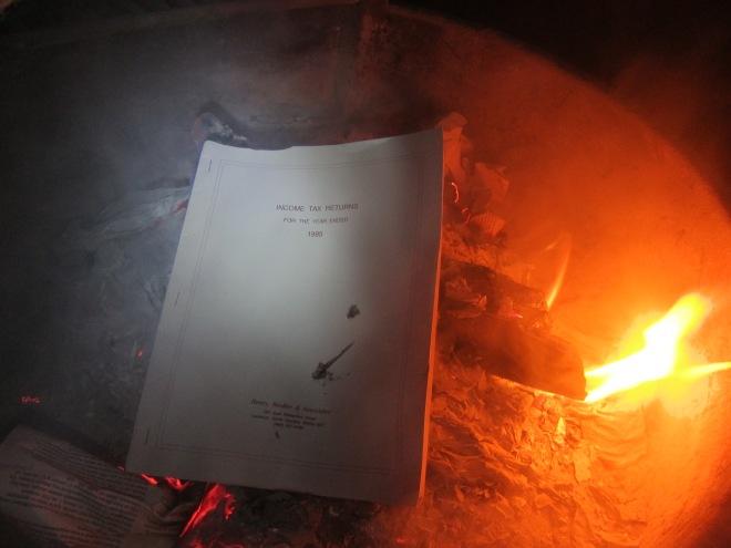 burning 1