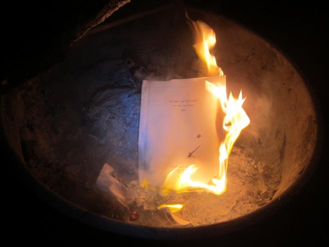 burning 2