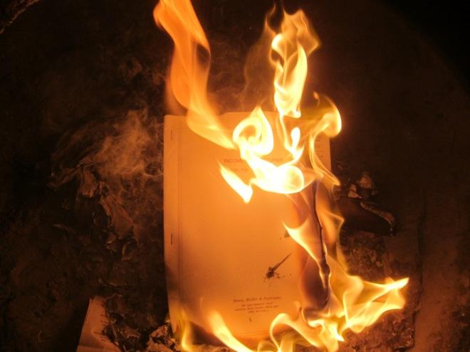 burning 3