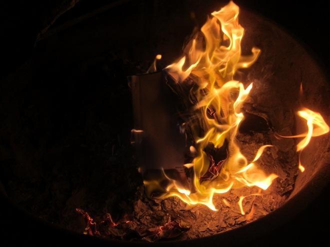 burning 5